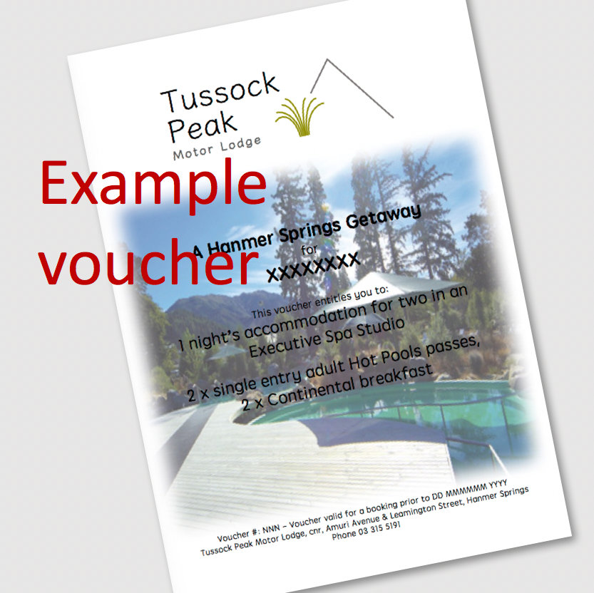 Tussock Peak luxury special