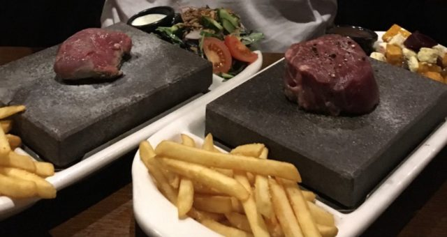 Review: Saints 2-for-1 stone grill